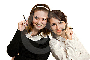 Young Businesswomens Stock Photos - Image: 8647003