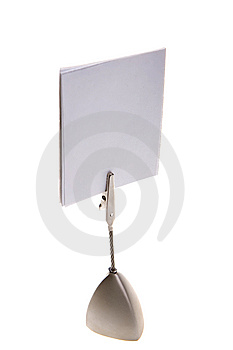 Paper Note Stock Image - Image: 8647011