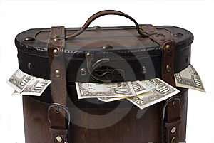 Money In The Trunk Stock Image - Image: 8647031