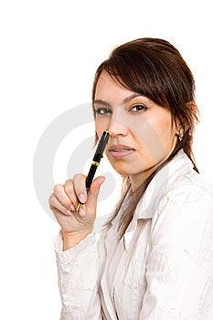 Jeunes Femmes D'affaires Images libres de droits - Image: 8647099
