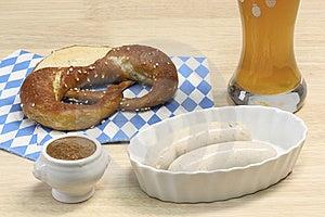 Bavarian Veal Sausage Royalty Free Stock Image - Image: 8647206