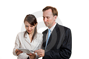 Young Businesswomen And Young Businessmen Royalty Free Stock Photos - Image: 8647218