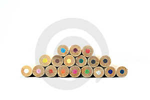 A Lot Of Color Pens Royalty Free Stock Images - Image: 8647299