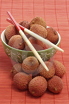 Litchis Images stock - Image: 8647324