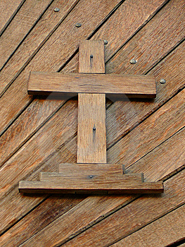 Wooden Cross Royalty Free Stock Photography - Image: 8647367