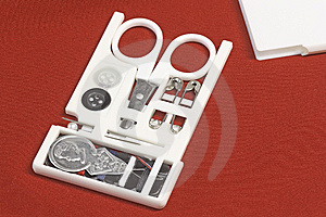 Sewing Kit Stock Photography - Image: 8647392