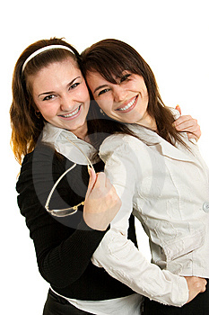 Young Businesswomen And Young Businessmen Royalty Free Stock Image - Image: 8647656