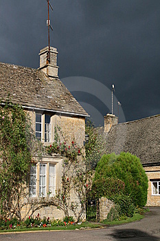 Maison De Cotswold Photos stock - Image: 8647793