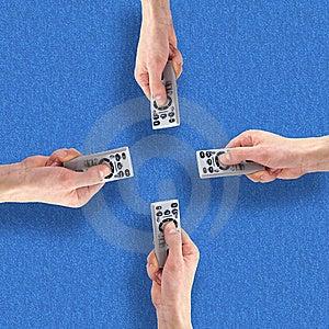 Remote Controls Stock Photo - Image: 8648100