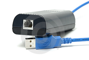 Modem D'IDSL Images stock - Image: 8648144