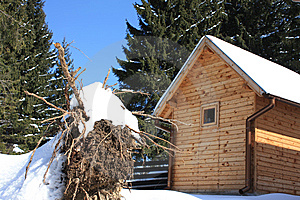 Mountain House Stock Image - Image: 8648321