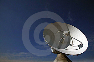 Radio Telescope Stock Photo - Image: 8648590