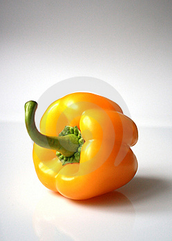 Yellow Sweet Pepper Royalty Free Stock Photo - Image: 8649055