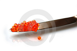 Red Caviar Royalty Free Stock Images - Image: 8649219