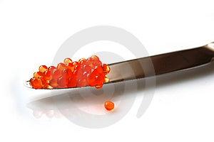 Rode Kaviaar Royalty-vrije Stock Afbeeldingen - Afbeelding: 8649219