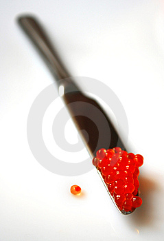 Red Caviar Royalty Free Stock Image - Image: 8649236