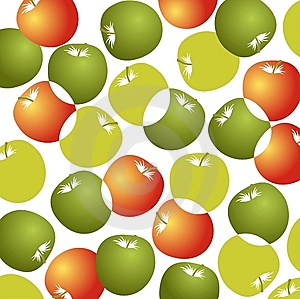 Apples Background Royalty Free Stock Photos - Image: 8649278
