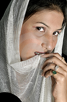 Arabian Girl Royalty Free Stock Image - Image: 8649386