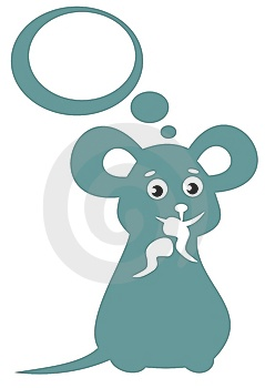 Happy Mouse Stock Photo - Image: 8649390