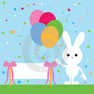 Party Bunny Stock Image - Image: 8649721