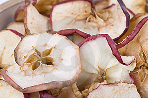 Dried Apples Royalty Free Stock Images - Image: 8649889