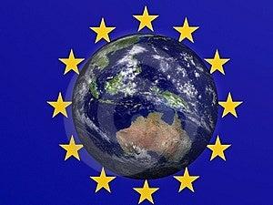 Terra Europea Immagine Stock Libera da Diritti - Immagine: 8650486