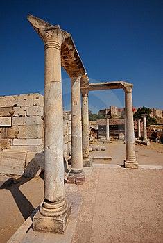 Colonnade Arkivbild - Bild: 8650802
