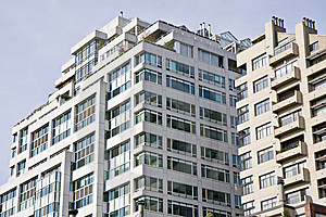 Urban Condo Tower Royalty Free Stock Image - Image: 8650836