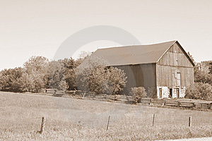 Country Barn Stock Image - Image: 8651201
