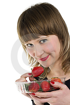 Strawberries Royalty Free Stock Photos - Image: 8651338