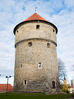 Medieval Tower In Tallinn, Estonia Royalty Free Stock Photography - Image: 8651347