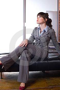 Business Woman Modern Office Royalty Free Stock Photo - Image: 8651395