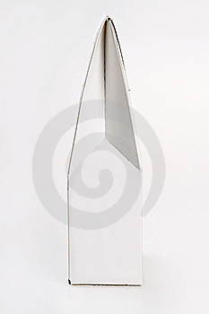 Paquete Blanco Para Los Productos Foto de archivo - Imagen: 8651470