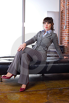 Business Woman Modern Office Royalty Free Stock Image - Image: 8651516
