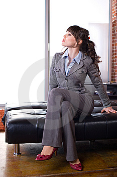 Business Woman Modern Office Stock Photography - Image: 8651562