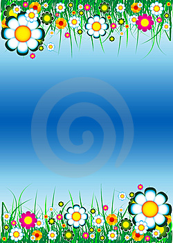Floral Background Royalty Free Stock Images - Image: 8651649