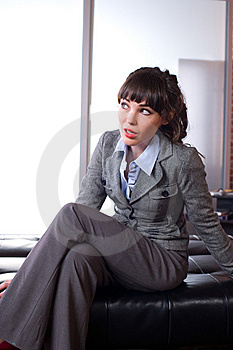 Business Woman In A Modern Office Royalty Free Stock Photo - Image: 8651675