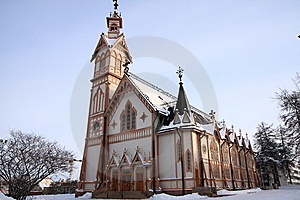 Wooden Church Royalty Free Stock Images - Image: 8651769