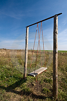 Wooden Swing Stock Images - Image: 8651794