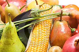 Vegetables & Fruits Stock Image - Image: 8651841