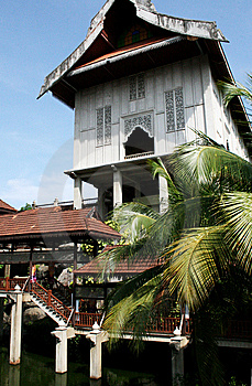 Reconstruction Of Traditional Malayan House Royalty Free Stock Images - Image: 8651869