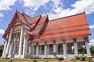 Traditional Thai Style Architecture Royalty Free Stock Photography - Image: 8651897