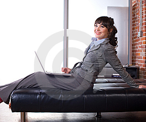 Business Woman Modern Office Stock Image - Image: 8652051