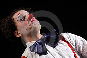 Clown Royaltyfri Bild - Bild: 8652076