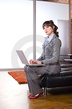 Business Woman Modern Office Stock Image - Image: 8652121