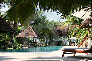 Resort Stock Photo - Image: 8652130