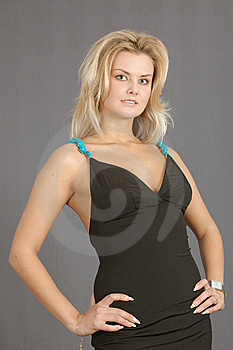 Portrait Of Attractive Blonde Woman Royalty Free Stock Photo - Image: 8652185