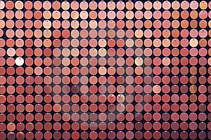 Background Of Red Small Metall Circles Stock Images - Image: 8652244