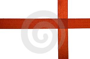 Ribbon Isolated Stock Photo - Image: 8652250