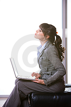 Business Woman Modern Office Stock Image - Image: 8652301